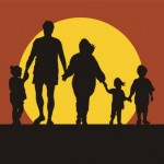 1477-family-silhouette-in-sunset-holding-hands